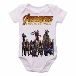 Roupa  Bebê Vingadores Guerra Infinita