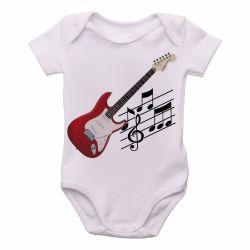 Roupa  Bebê  Guitarra Instrumento