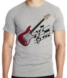 Camiseta Infantil Guitarra Instrumento