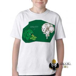 Camiseta Infantil Brócolis Ghost