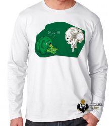 Camiseta Manga Longa Brócolis Ghost