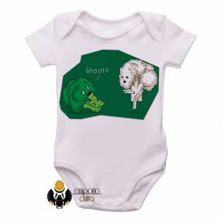 Roupa  Bebê  Brócolis Ghost