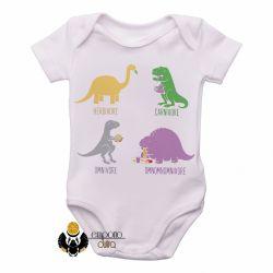 Roupa  Bebê Dinossauro comilão