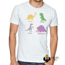 Camiseta Dinossauro comilão