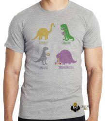 Camiseta Infantil Dinossauro comilão