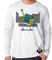 Camiseta Manga Longa Fred Mercury elemento Queen