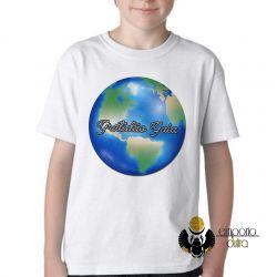 Camiseta Infantil Gratidão Gaia
