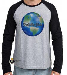 Camiseta Manga Longa Gratidão Gaia