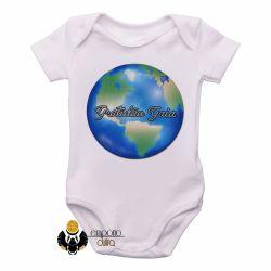 Roupa  Bebê  Gratidão Gaia
