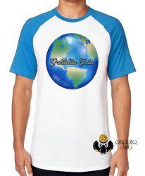 Camiseta Raglan Gratidão Gaia