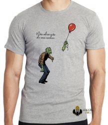 Camiseta Infantil Não abra mão de seus sonhos
