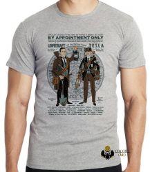 Camiseta Tesla Lovecraft