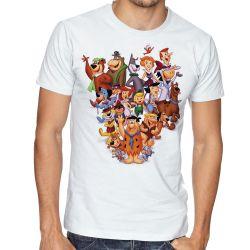 Camiseta  Hanna Barbera personagens