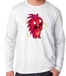 Camiseta Manga Longa Happy Tree Friends Flakey