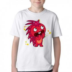 Camiseta Infantil Happy Tree Friends Flakey