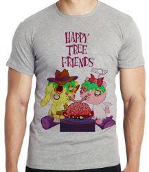 Camiseta  Happy Tree Friends Spaguetti