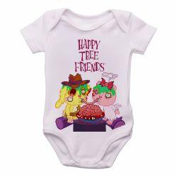 Roupa  Bebê  Happy Tree Friends Spaguetti