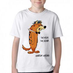 Camiseta Infantil  Hanna Barbera Hardy Hiena