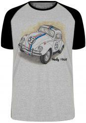 Camiseta Raglan Herbie 1968