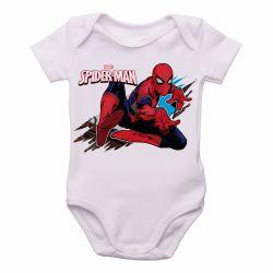 Roupa  Bebê  Homem Aranha teia