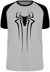 Camiseta Raglan Homem Aranha  Venom