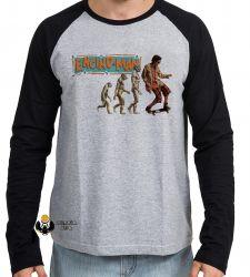 Camiseta Manga Longa Homem da Califórnia