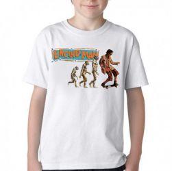 Camiseta Infantil Homem da Califórnia