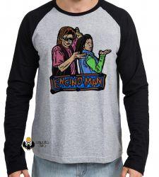 Camiseta Manga Longa Homem da Califórnia personagens