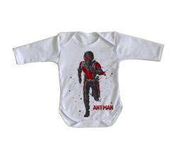 Roupa Bebê manga longa Homem Formiga