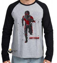 Camiseta Manga Longa Homem Formiga