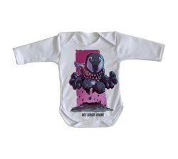 Roupa Bebê manga longa Mini Venom