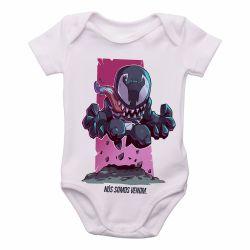 Roupa  Bebê  Mini Venom
