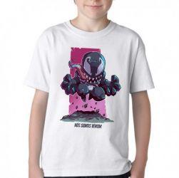 Camiseta Infantil Mini Venom