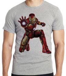 Camiseta Homem de Ferro ataque