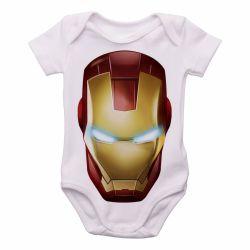 Roupa  Bebê  Homem de Ferro  máscara