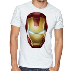 Camiseta Homem de Ferro  máscara
