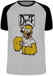 Camiseta Raglan Homer Simpsons Popeye