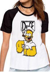 Blusa Feminina Homer Simpsons Popeye
