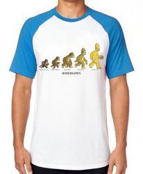 Camiseta Raglan Homer Simpsons Sapien