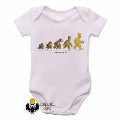 Roupa  Bebê Homer Simpsons Sapien
