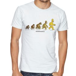 Camiseta Homer Simpsons Sapien