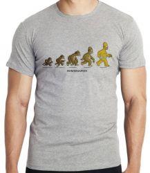 Camiseta Infantil Homer Simpsons Sapien