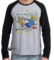 Camiseta Manga Longa  Adventure Time Fiona  Cake