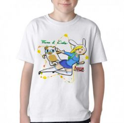 Camiseta Infantil  Adventure Time Fiona Cake