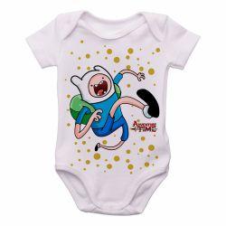 Roupa  Bebê  Adventure Time Jake