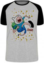 Camiseta Raglan Adventure Time Jake