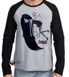 Camiseta Manga Longa  Adventure Time Marceline