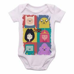 Roupa  Bebê  Adventure Time moldura