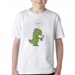 Camiseta Infantil Humano Orgânico