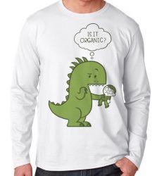Camiseta Manga Longa Humano Orgânico